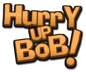 Hurry Up Bob! Logo