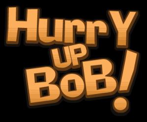 Hurry Up Bob! Logo